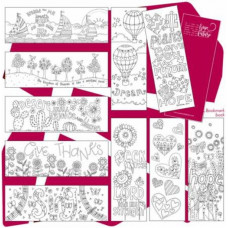 Images of Hope Bookmarks To Colour