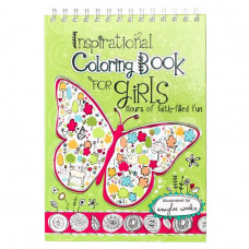 Inspirational Colouring Book For Girls