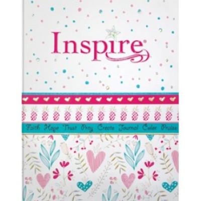 NLT Inspire Journalling Bible For Girls