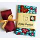 Jazzy Pocket Square - Red Petals