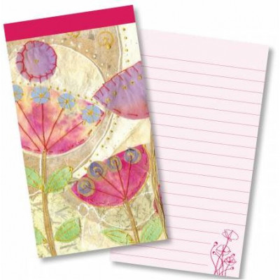 Jotter Pad - Poppies