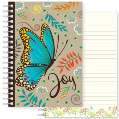 Joy Butterfly Notebook