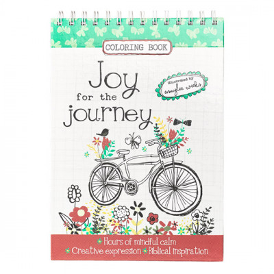 Joy For The Journey Colouring Book