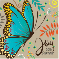 Joy Butterfly Calendar 2021