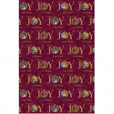 Joy Gift Wrap And Tags