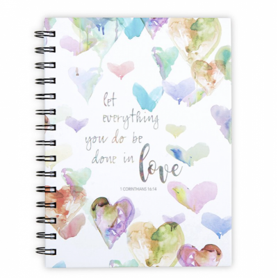 Let Everything You Do Be Done In Love Notebook