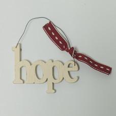 Mini Hope Hanging Sign