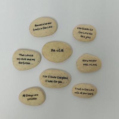 Assorted Bible Verse Pocket Stones
