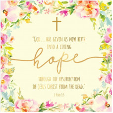 Compassion Charity Easter Cards - Living Hope (Pack of 5)