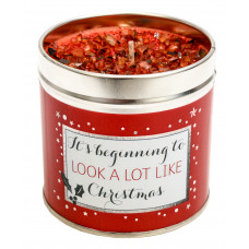 It's Beginning To Look A Lot Like Christmas Tinned Candle