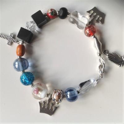 Lord's Prayer Beaded Bracelet