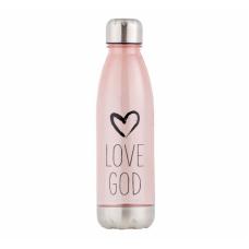 Love God Water Bottle
