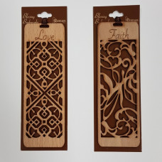 Wooden Bookmark - Faith