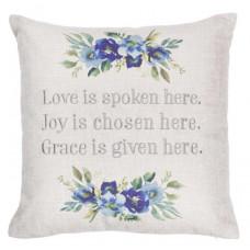 Love Is Spoken Here Cushion