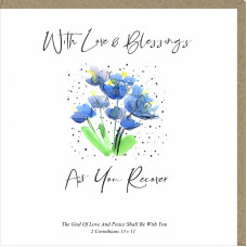 With Love & Blessings As You Recover Greetings Card