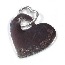 Love Is Eternal Heart Pendant