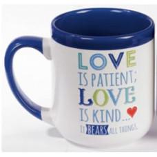 Love Is Patient Ceramic Mug
