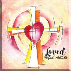 Loved Beyond Measure With Cross Magnet