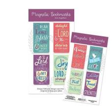 Grace Love Joy Magnetic Bookmarks