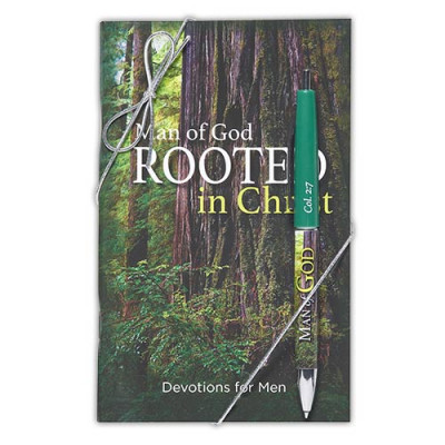 Man Of God Rooted In Christ Devotional & Pen Set