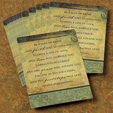 Scripture Card Man Of Faith