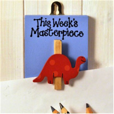 This Weeks Masterpiece Dinosaur Peg