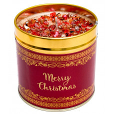 Merry Christmas Tinned Candle