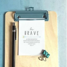 Mini Card: Be Brave (Arrow)
