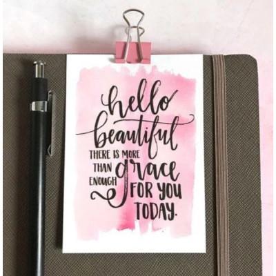 Mini Card: Hello Beautiful