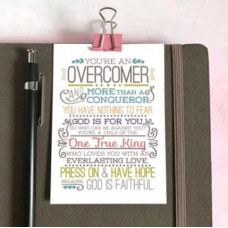 Mini Card: Overcomer
