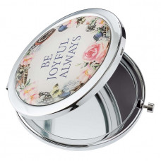 Be Joyful Always Compact Mirror
