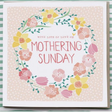 Mothering Sunday Floral Card