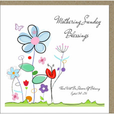 Mothering Sunday Blessings Card