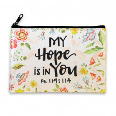 My Hope Is In You Zipped Purse