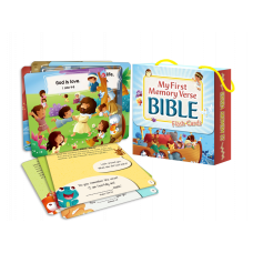 My First Memory Verse Bible Flash Cards