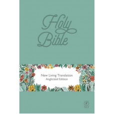 Teal NLT Lux Leather Bible