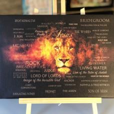 Names Of Jesus Canvas Artboard