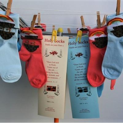 Babies Socks - Noah's Ark