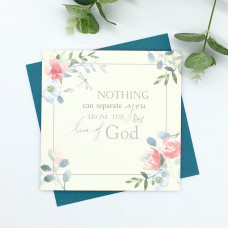 Nothing Can Separate You From The Love Of God Card