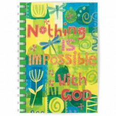 Nothing Is Impossible Notebook