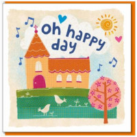 Oh Happy Day Card Church