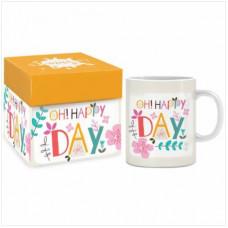 Oh Happy Day Boxed Mug