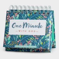 One Minute With God Perpetual Calendar Floral