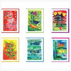 Pack Of 6 Assorted Cards