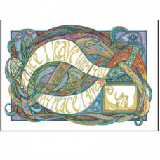 Lindisfarne Scriptorium My Peace I Leave You A4 Print