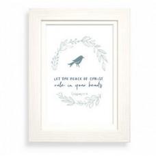 Peace Of Christ Framed Print