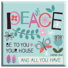 Peace To Your House Magnet