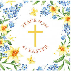 Compassion Charity Easter Cards - Peace To You At Easter (Pack of 8)