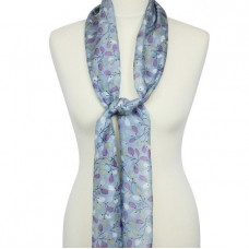 Scarf With Scripture Amelia Blue/Lilac