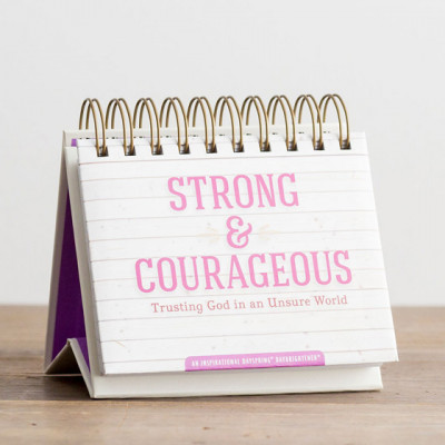 Perpetual Calendar Strong And Courageous